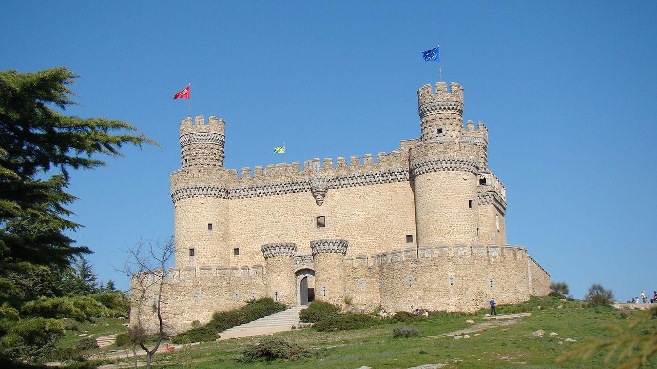 Castillo de los Mendoza en Manzanares el Real