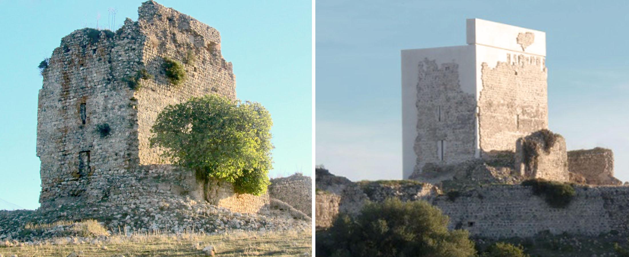 La polémica restauración del castillo de Matrera