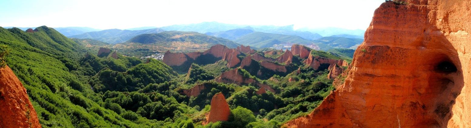 Las Médulas de León, las montañas de oro