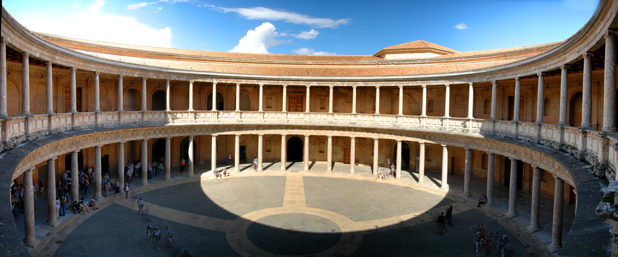 Palacio de Carlos V - Alhambra Granada