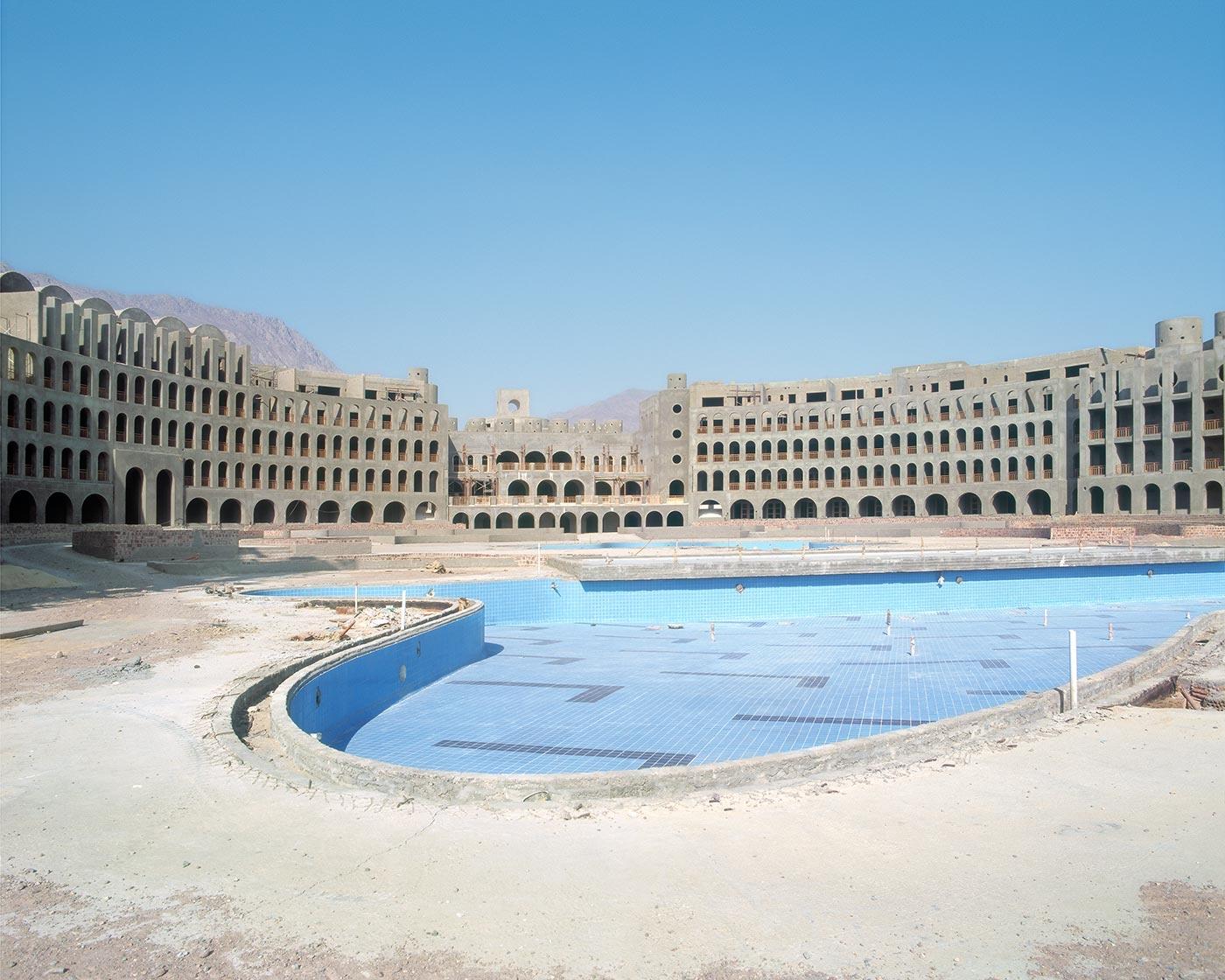 Resort de lujo abandonado en Egipto