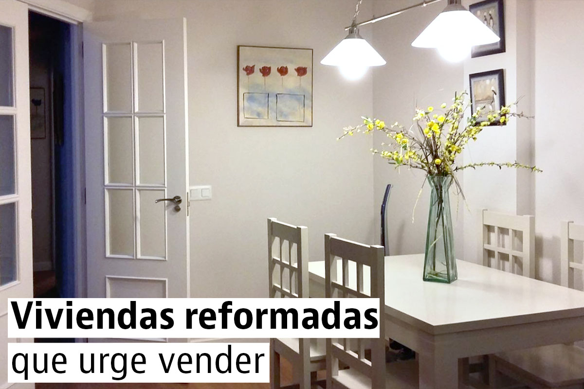 Urge vender pisos reformados por menos de euros idealista news - Pisos reformados madrid ...