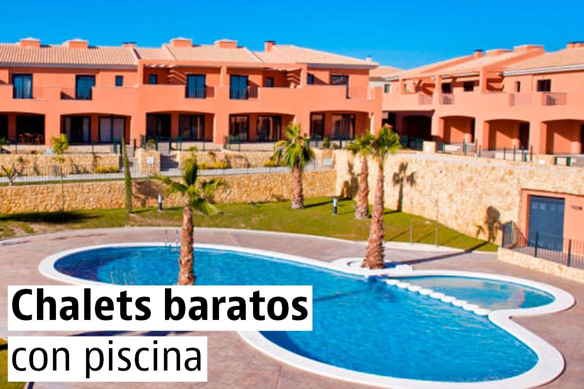 Chalets baratos con piscina a la venta idealista news - Chalet con piscina ...