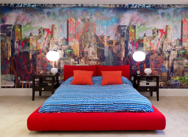 Ideas de decoración: grafitis, de los callejones de Nueva York a las casas más 'cool'