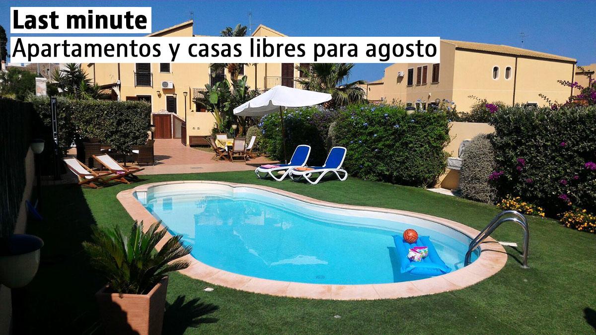 Casas de vacaciones last minute en España, Italia y Portugal