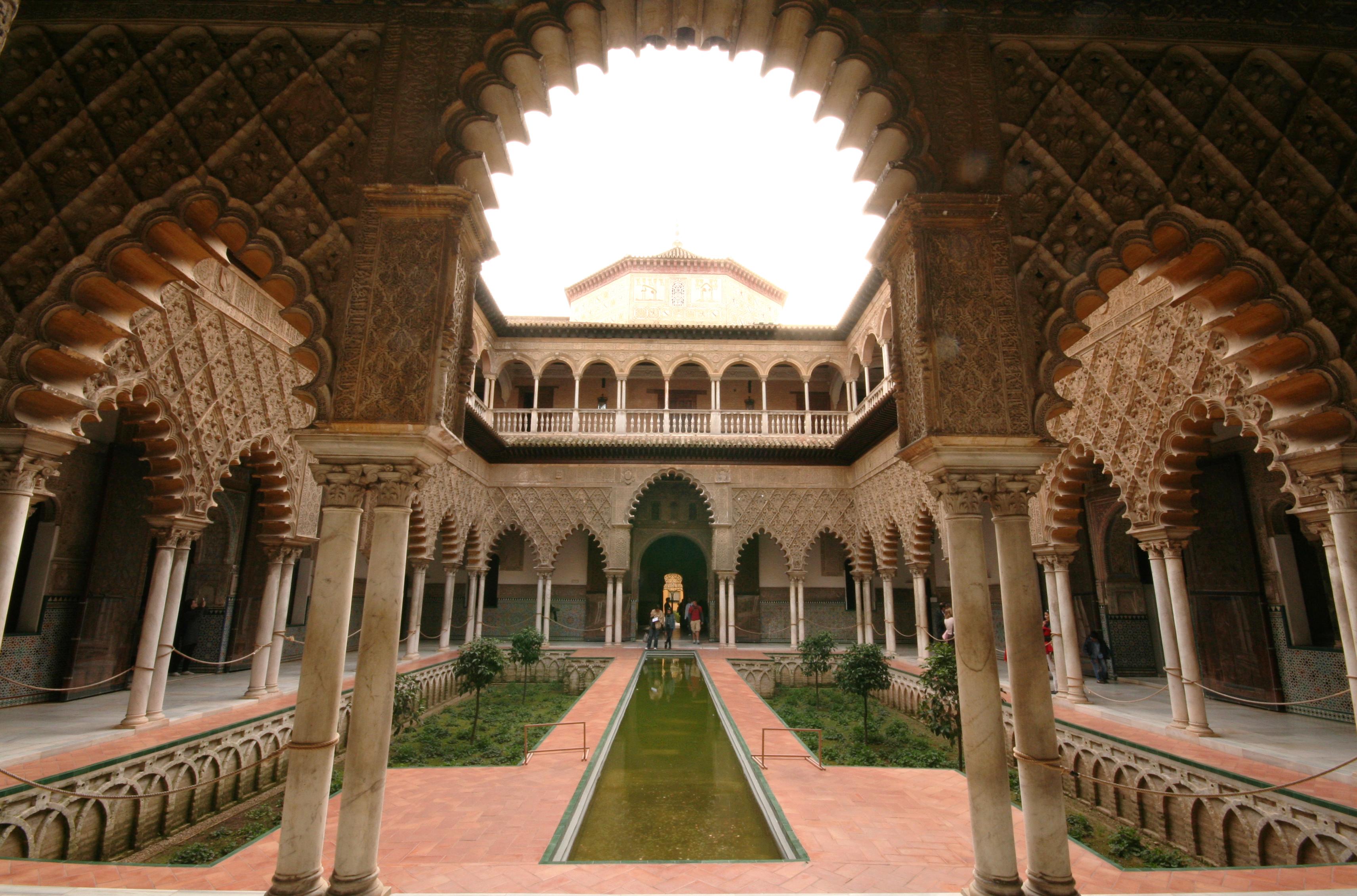 Real Alcázar de Sevilla - Juego de tronos
