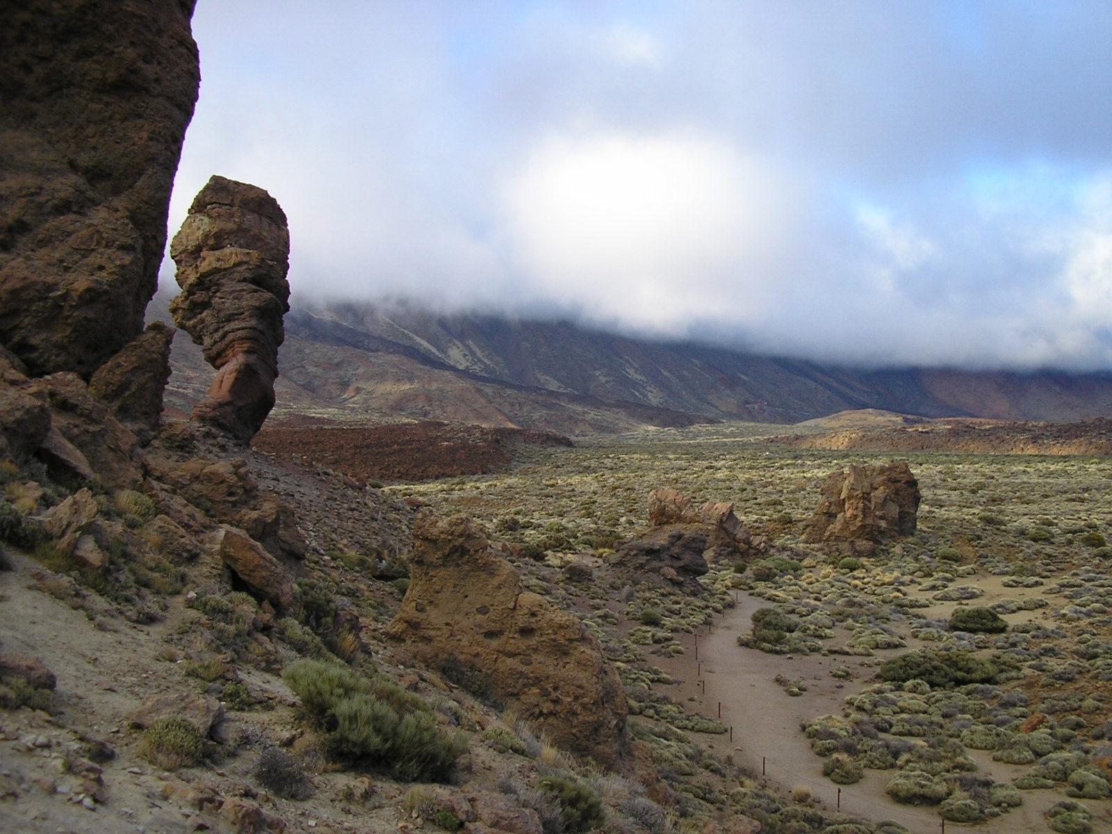 Ruta de la Fortaleza, cerca del Teide