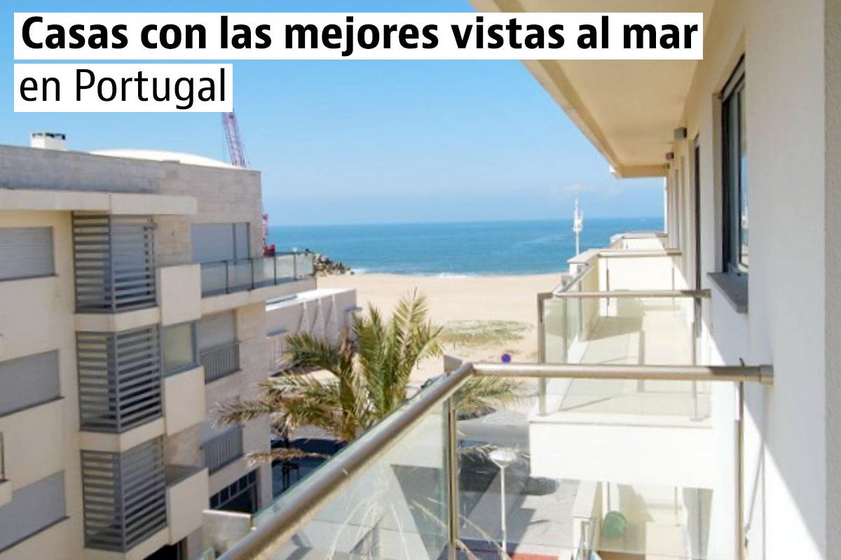 Las casas más baratas con vistas al mar en Portugal