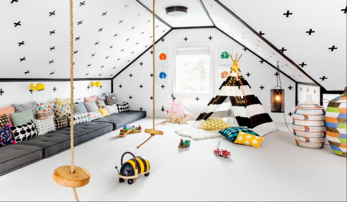 C mo decorar la habitaci n de tu hijo seg n los principios - Organizar habitacion infantil ...