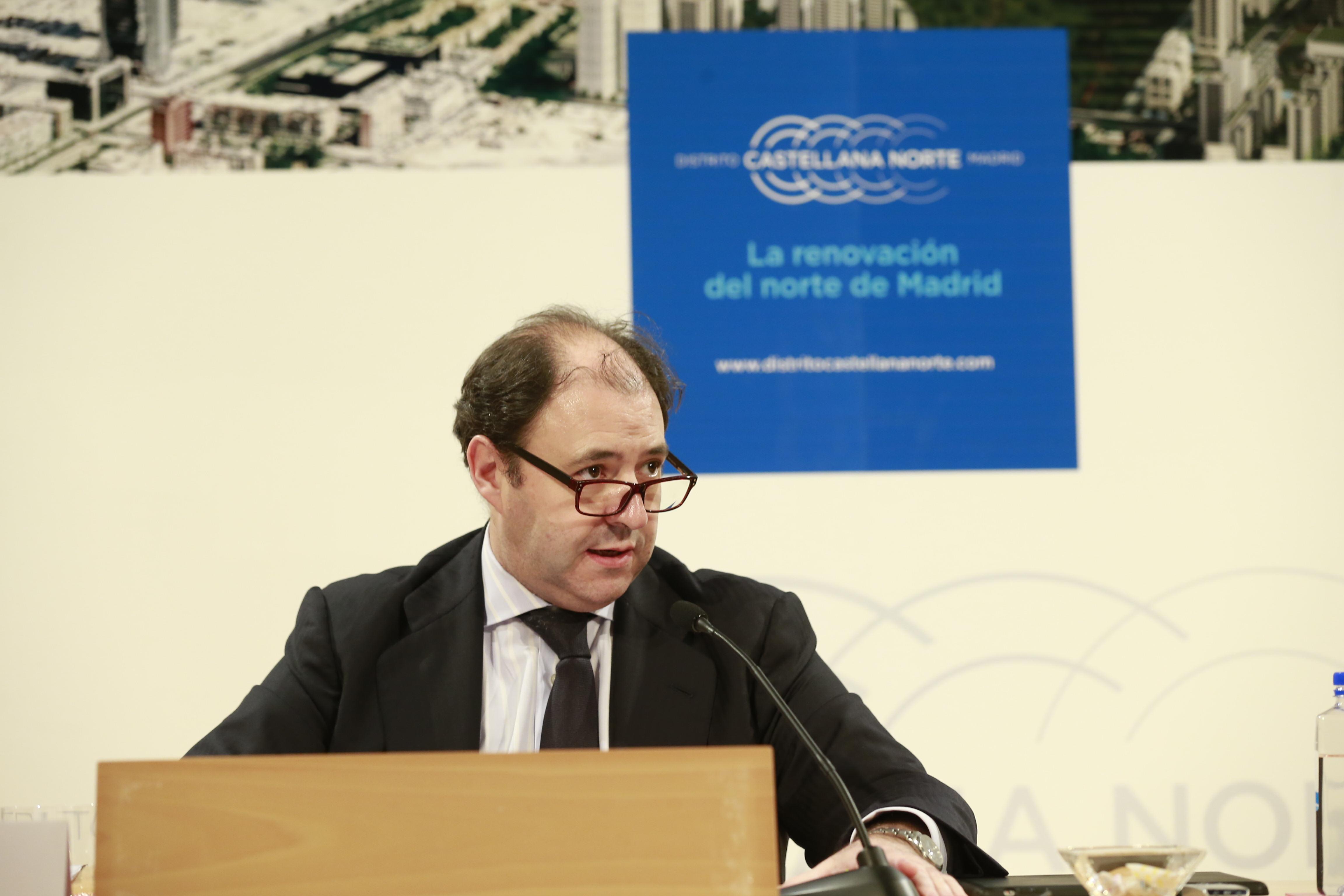 Antonio Béjar, presidente de Distrito Castellana Norte