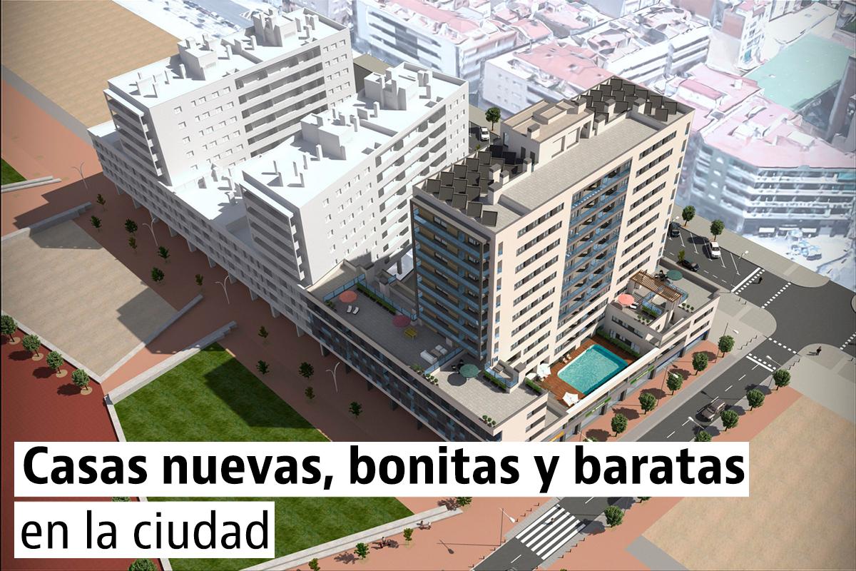 Pisos con terraza en las principales ciudades espa olas for Casas baratas en sevilla y provincia