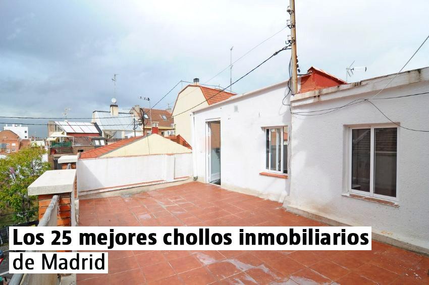 Los 25 mejores chollos inmobiliarios de Madrid