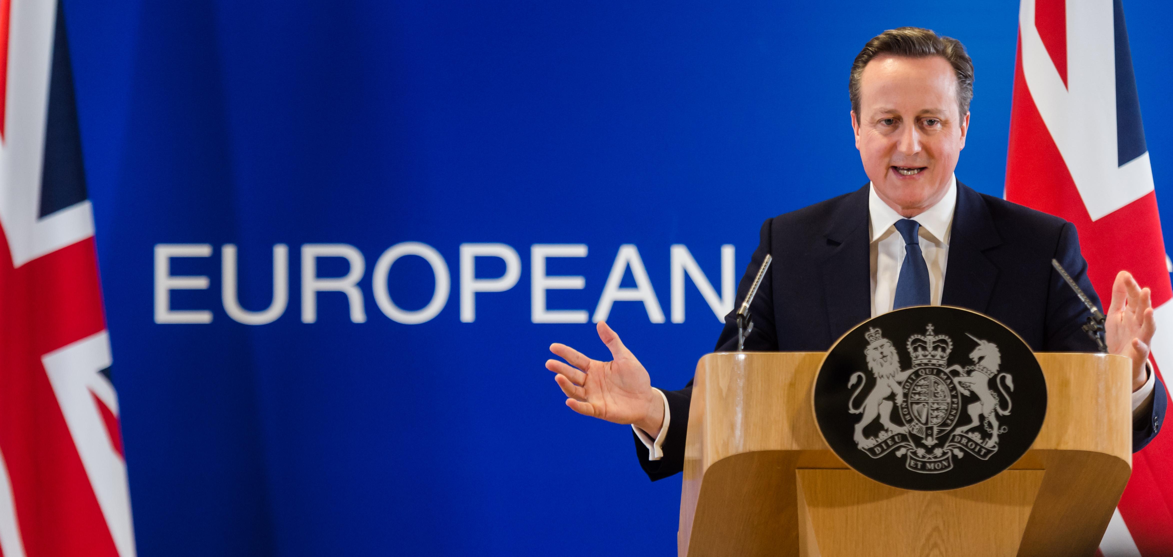 David Cameron, primer ministro de Reino Unido