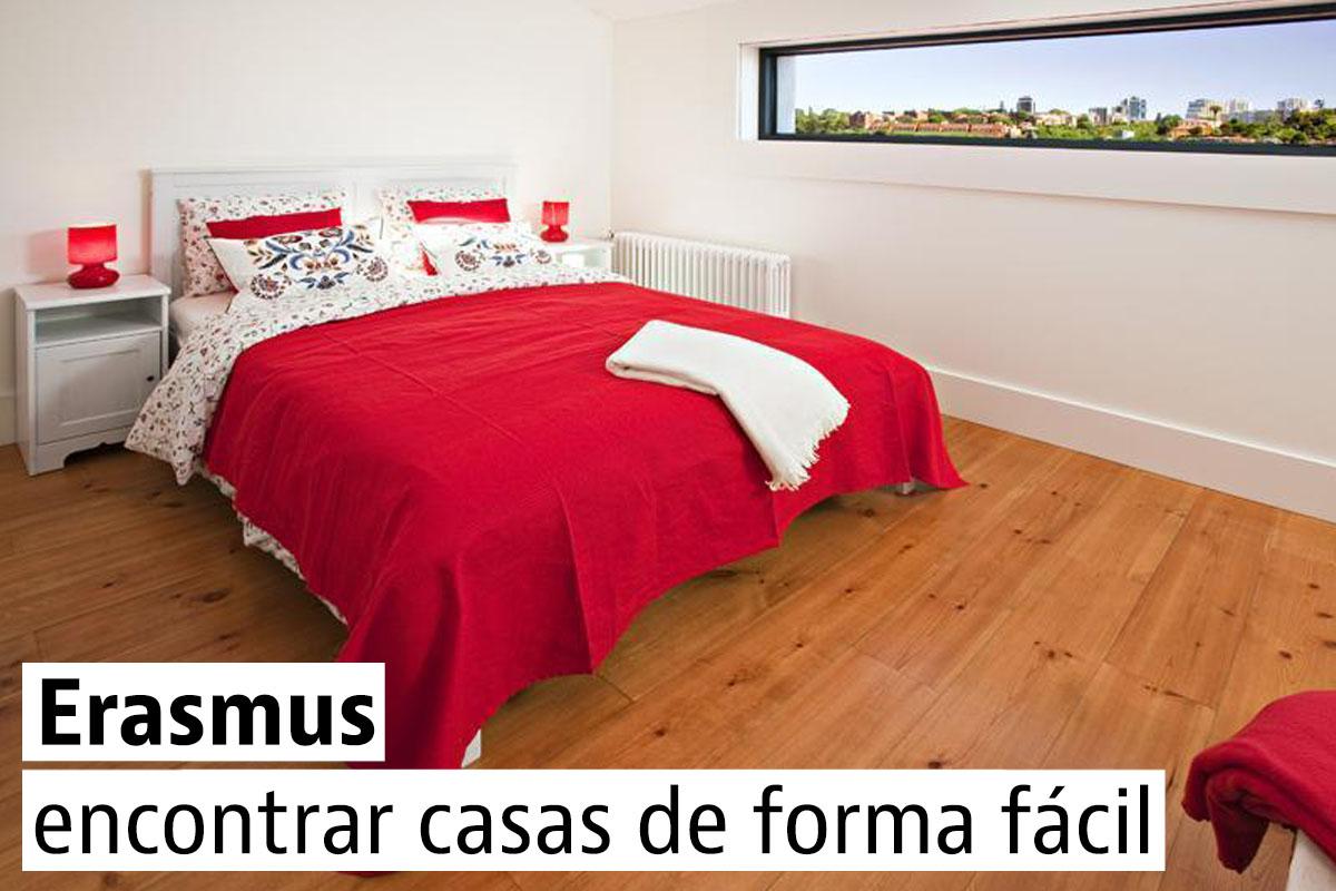 Casas para Erasmus en Italia y Portugal