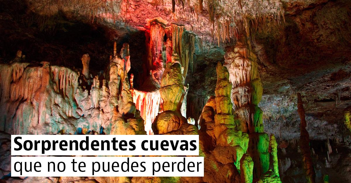 6 espectaculares cuevas en España que probablemente desconozcas