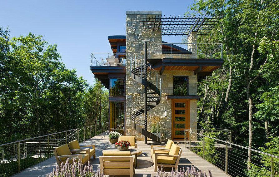 Casas de ensueño: una mansión en lo alto de una duna con vistas 360º y playa privada