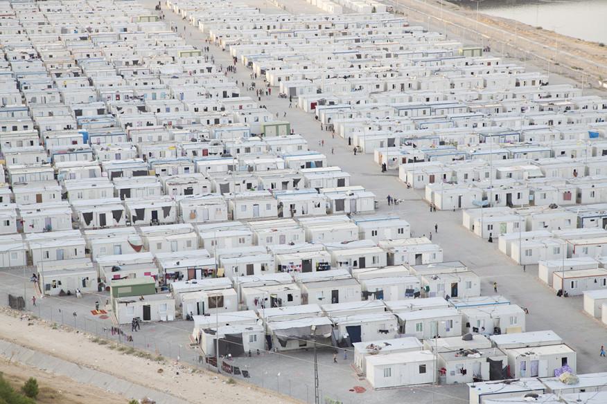 Resultado de imagen de campo de refugiados nizip 2 turquia
