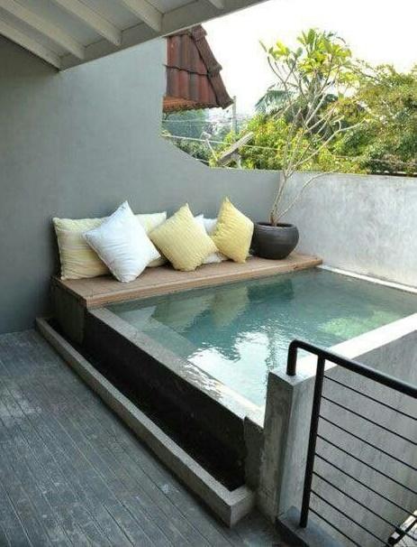 20 espectaculares 39 mini piscinas 39 ya no tienes excusas - Minipiscinas para terrazas ...