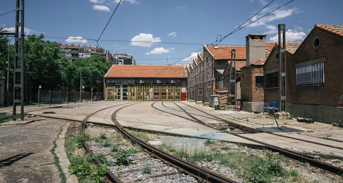 Parece auschwitz pero es el centro de madrid las for Oficinas del inss en madrid capital