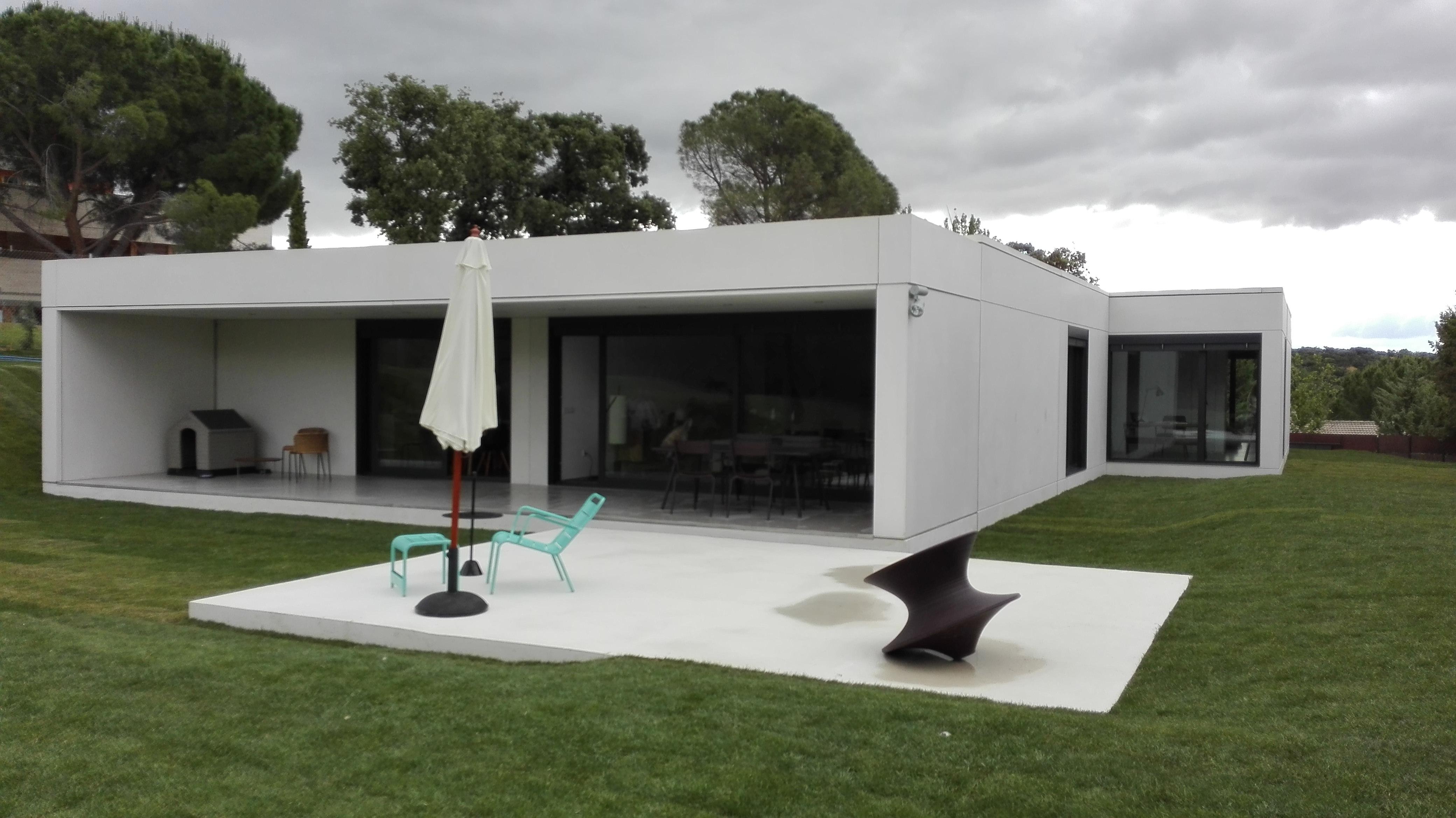 As es por dentro y por fuera una casa prefabricada de - Casas de prefabricadas de hormigon ...