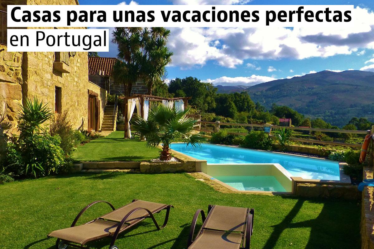 Casas de alquiler para vacaciones en Portugal