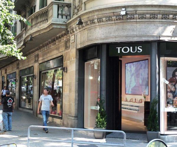 Tienda Tous en la avenida Diagonal (Barcelona)