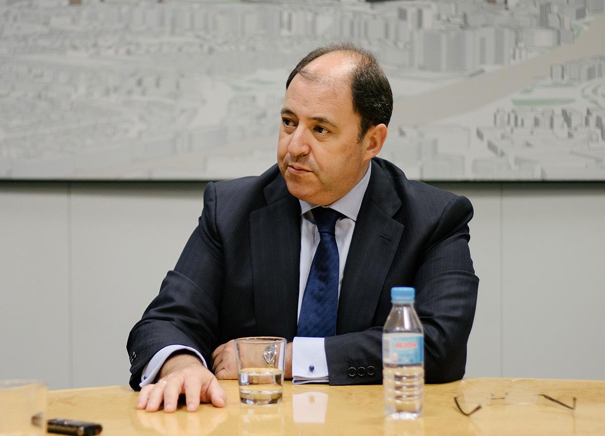 Antonio Béjar, presidente de DCN