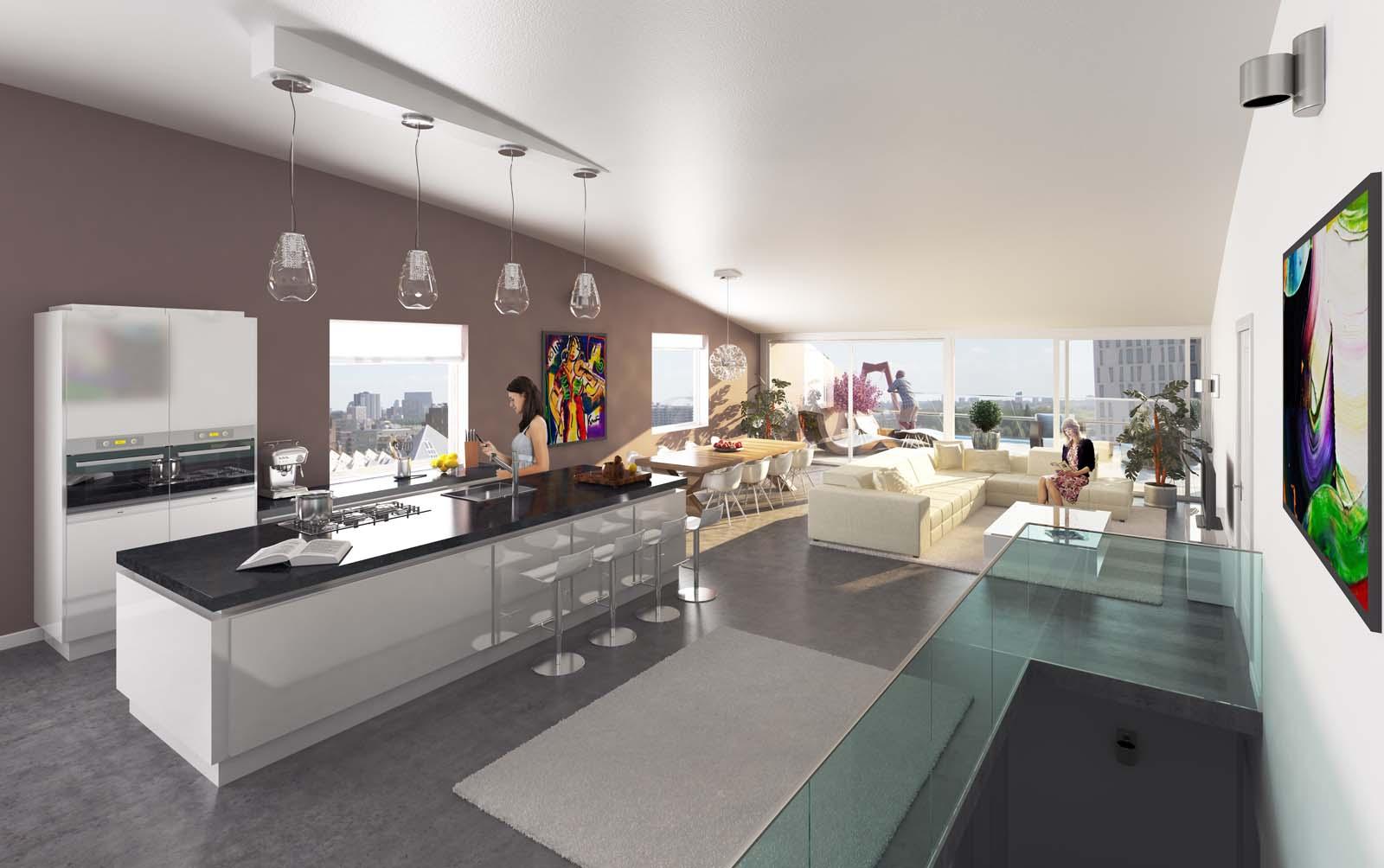 As es el markthal el edifico del futuro que ya es presente idealista news - Appartement hal ...