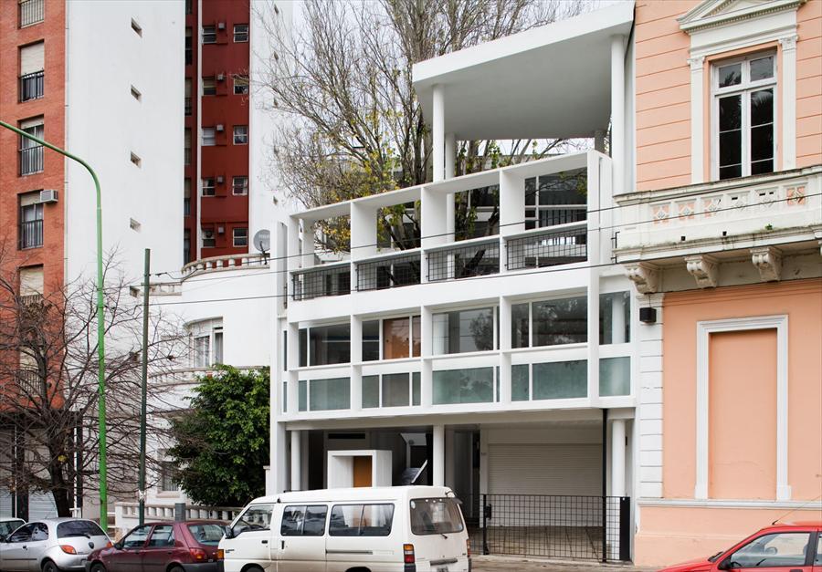 Maison du Docteur Curutchet, La Plata, Argentina, 1949 @FLC/ADAGP
