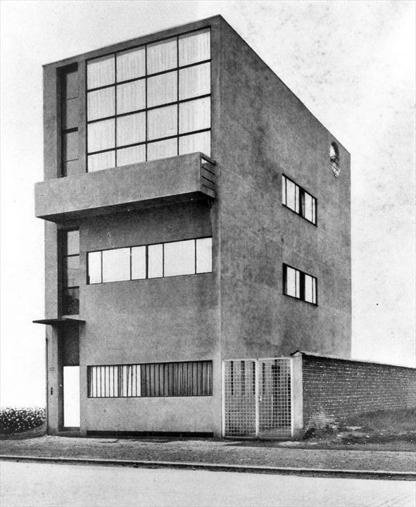 Maison Guiette, Antwerp, Belgium, 1926 @FLC/ADAGP