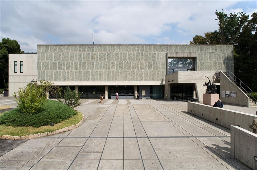 Musée National des Beaux-Arts de l'Occident, Taito-Ku, Tokyo, Japan, 1955 @FLC/ADAGP