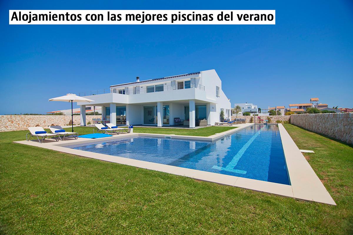 alojamientos para vacaciones con piscinas originales