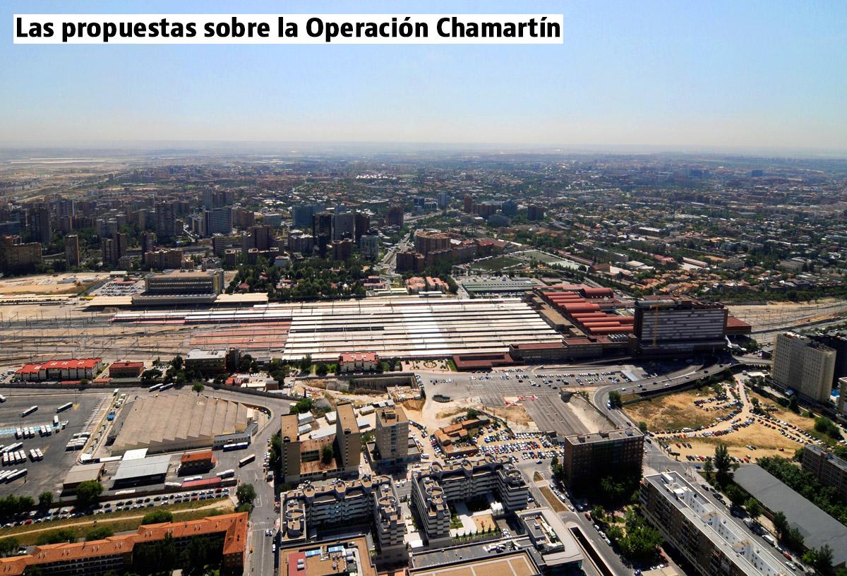 Operación Chamartín: la propuesta del Ayto. de Madrid y la de Distrito Castellana Norte