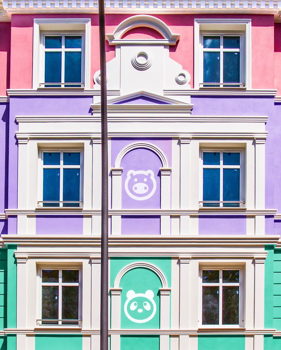El \'cazador de colores\' que se dedica a fotografiar las fachadas más ...