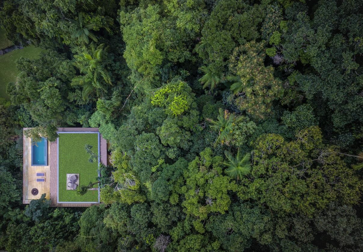 Casas de ensueño: Casa Na Mata, la más bonita de Brasil por mimetizarse con la naturaleza