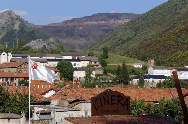 Ciñera de Gordón, un pueblo de León en venta