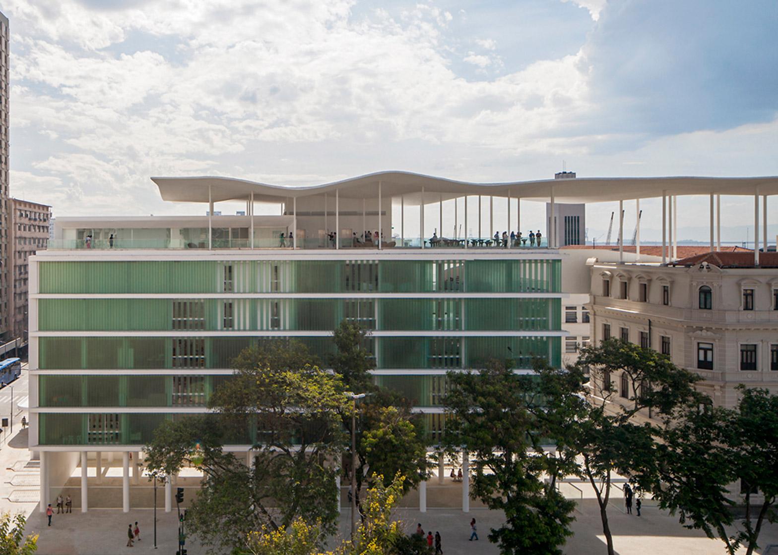 Museu de Arte do Rio by Bernardes + Jacobsen Arquitetura