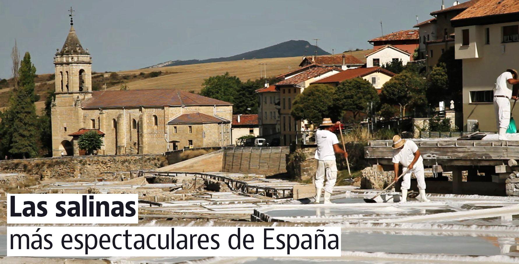 Las Salinas de Añana (Álava)