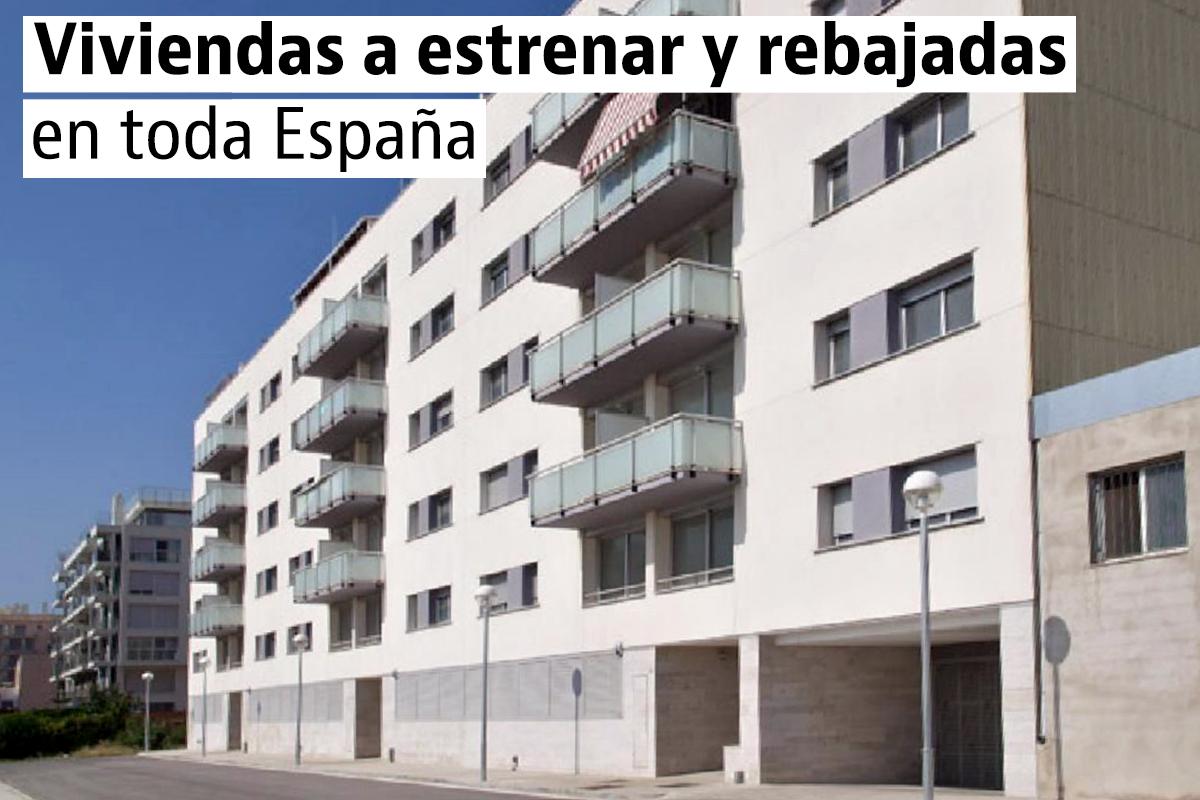 Viviendas de obra nueva con descuento en toda España
