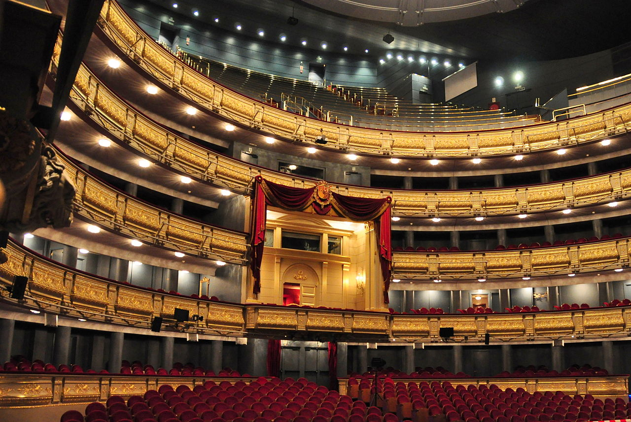 Teatro Real de Madrid / Wikipedia / Wikimedia commons