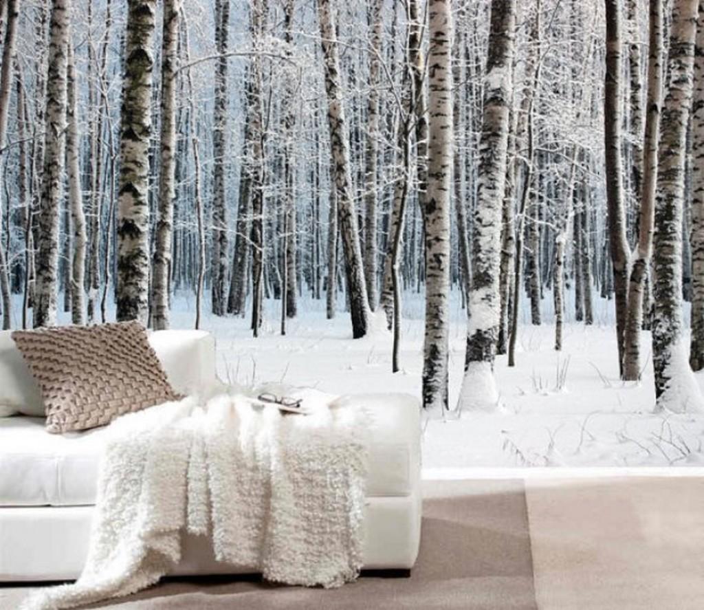 2. Blancos, maderas y pieles para preparar tu casa para un otoño/invierno 'chic'