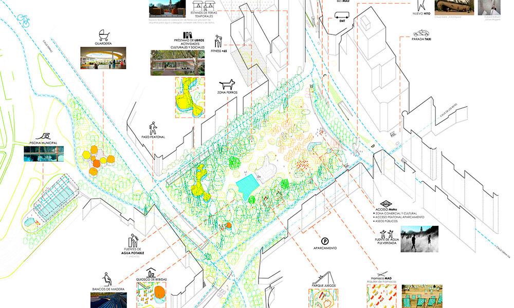 Proyecto '1968 diluir los límites, evitar las discontinuidades y más verde'