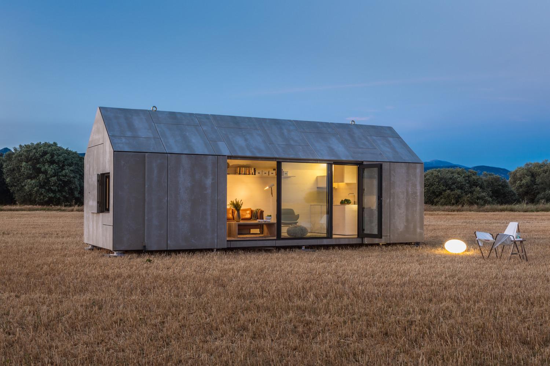Casa TransportableÁPH80 / Ábaton Arquitectura