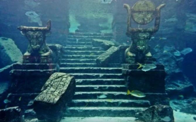 Dwarka, Golfo de Cambay en la India