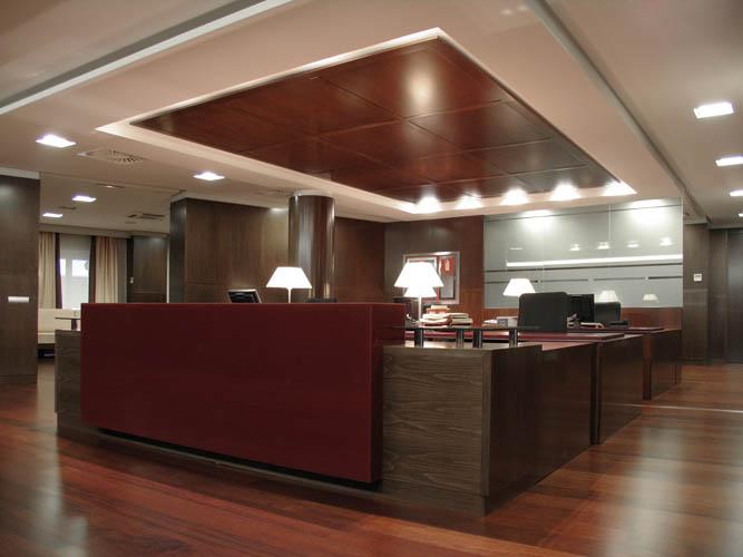 Interior de la sede. Foto de Touza Arquitectos