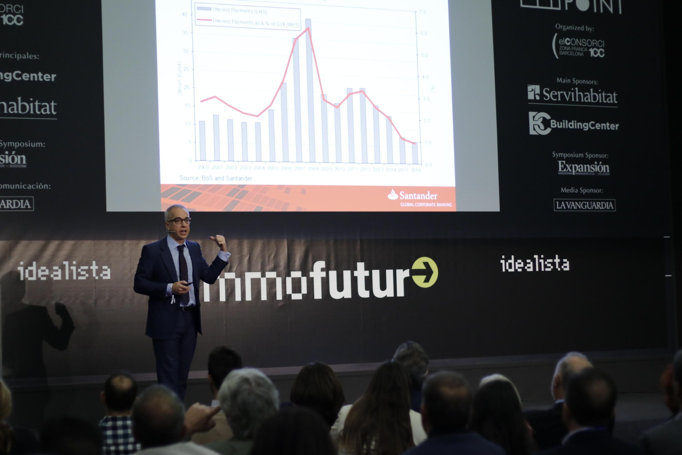"""Antonio Espasa, managing director y chief economist Europe de Santander: """"La economía española está creciendo de forma sana"""""""