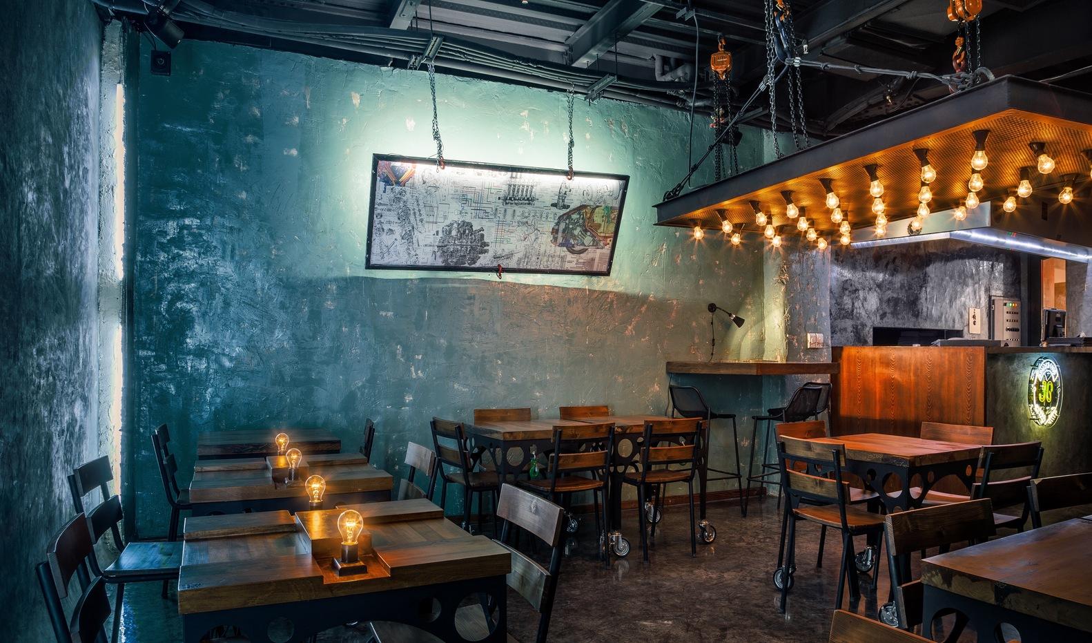 Mejor Restaurante en Medio Oriente y África: Jo Grilled Food (Teherán, Irán) / WhiteRhino Design Group