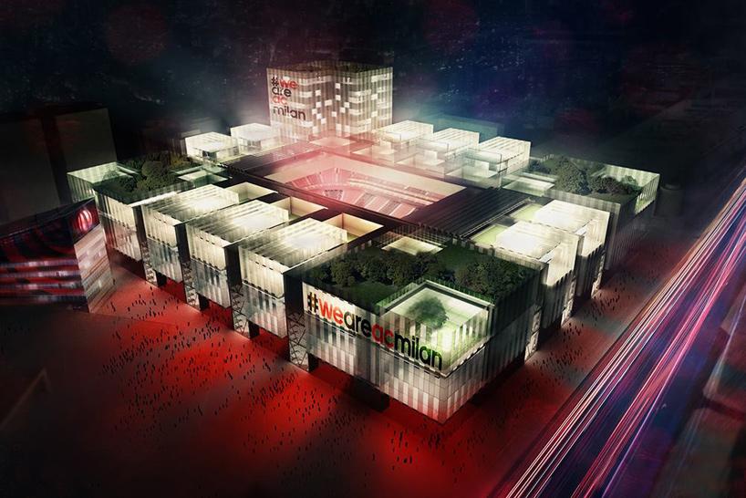 Nuevo estadio del AC Milan