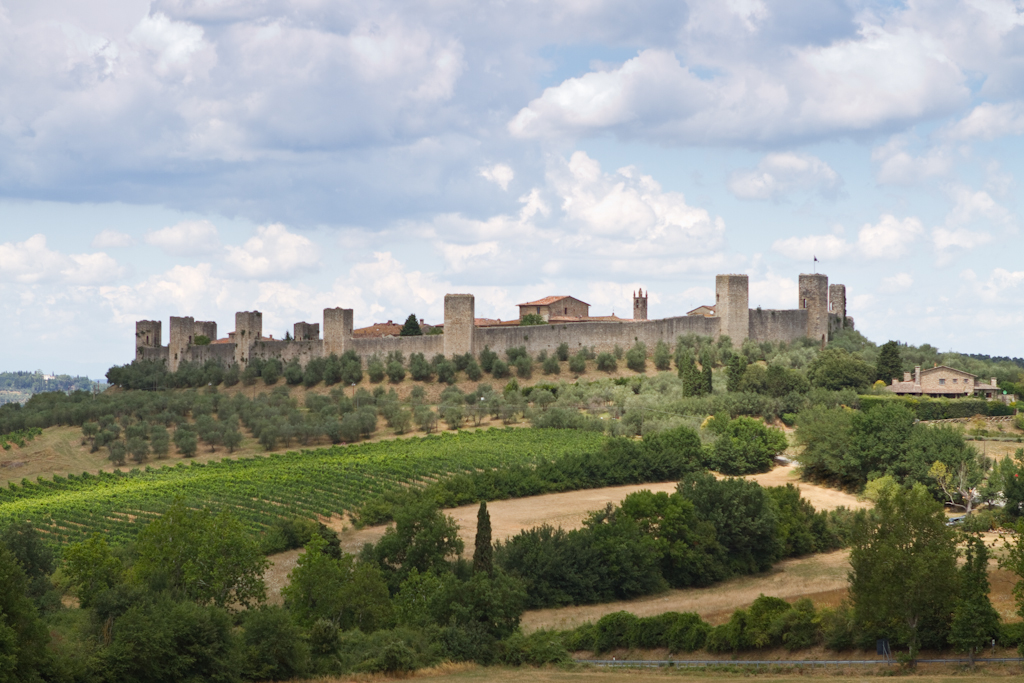 Fortaleza de Monteriggioni https://www.flickr.com/photos/isabelle_puaut/ / Flickr/Creative commons