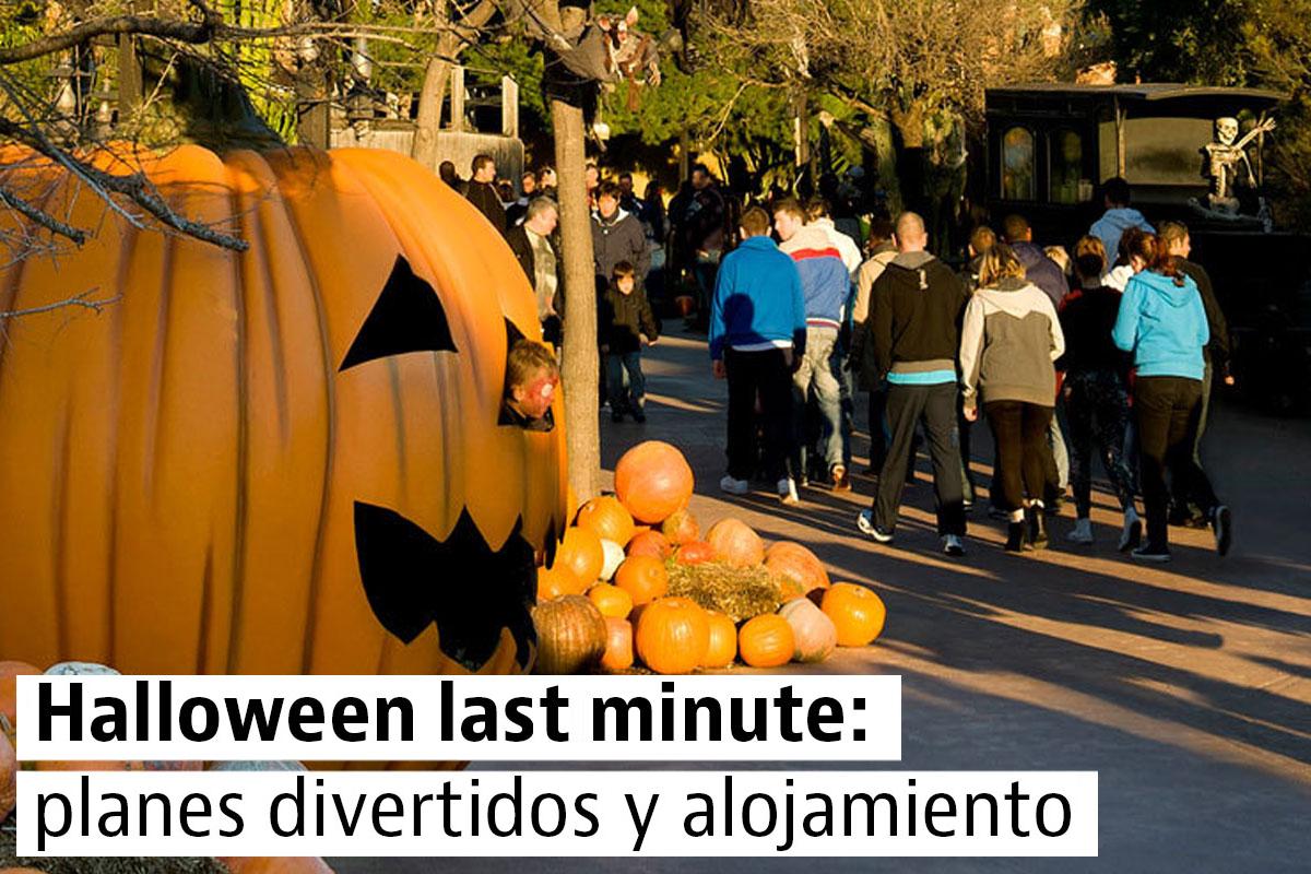 Halloween: planes para toda la familia y alojamiento de última hora